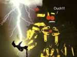 Zethlin gets struck by LIGHTNING by CallanLoF