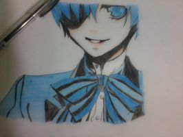 Ciel Phantomhive drawing by otaku18princess
