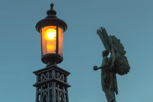 Angel and Lamp (Stock Photo) by jeffkingston
