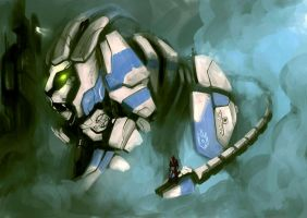 Cybernetic Lion Updated by powerhouse-bg