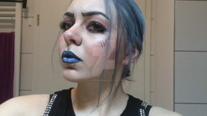 Borderlands_Maya_makeup by Luthien0Nenharma