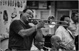 The trombonist by jazzypao