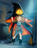 Witch - color sketch by Dhutchison