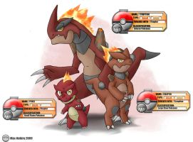 Pokemon Tyruption Starter by Max-Nohiro