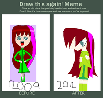 Before And After Meme by ZombieGirlHunter