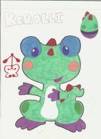 Kerolli the Pollikero (FROG Dragon) by Alice-of-Africa