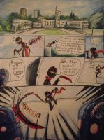 Tmnt meet RC9GN comic page 1 by 0-G-Inspired