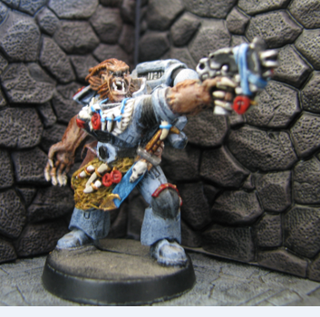 Space Wolf Wulfen by DrDoSoLittle