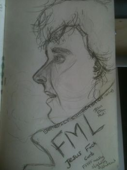 Benedict Cumbersketch 2 by wolfinmyheart