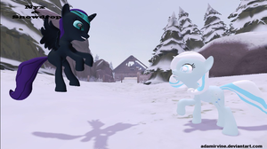 Nyx and Snowdrop #8 by AdamIrvine