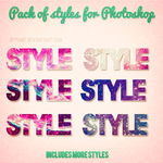 Styles Photoshop by bypame