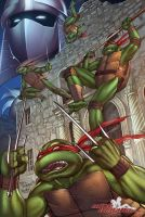 Teenage Mutant Ninja Turtles - Alamo City by SquirrelShaver