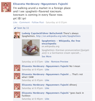 Hetalia Facebook: Spaghetti Ice Cream by gilxoz-epicness