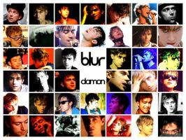 Damon Albarn Wallpaper 8-color by Groteskiprincessa