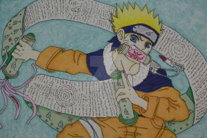 Naruto: scroll of water by Etsuko-Hime