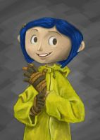 Coraline Sketch by z00tz00t