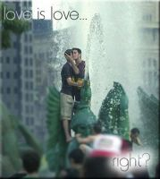 Love Is Love by 40DiffKindsOfSadness