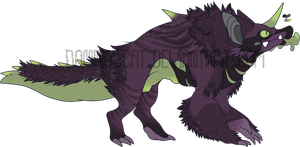 Design Adopt: Poison Dart Dog 200 points (CLOSED) by DominosCat