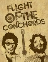 Flight Of The Conchords by SenorElektro