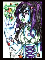 Cyber dreams and Acidic stars by megoboom