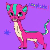 Adoptable cat 1 by mermaidgirl013
