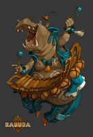 Hippo Balafon by Catell-Ruz