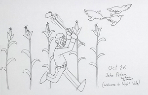 Inktober 26 John Peters-- you know, the farmer? by Willdabeast-0305