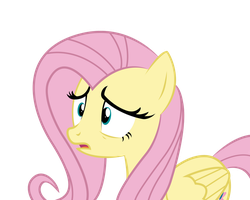 Distressed Fluttershy by Noah-x3
