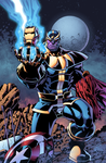 Thanos - Titan Among Men by J-Skipper