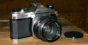 Pentax K-1000 SLR Camera by EndOfGreatness