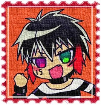 Jyugo canvas chibi stamp by MangaMad86