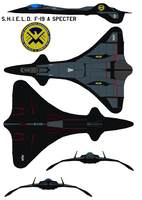 S.H.I.E.L.D. F-19 A Specter by bagera3005