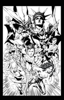 Justice League - Ivan Reis by frogeybeag