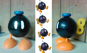 Bob-omb Cosplay Prop by lcponymerch