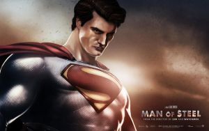 Man of Steel  Supes Wallpaper by Medusone