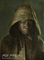 The Walking Dead: Michonne: (Ver. 2): Re-Edit by nerdboy69