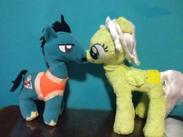 My parents' ponies, together by Chanditoys