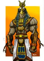 Horus by Matt9