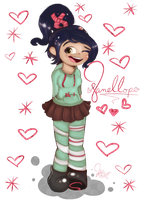 .:Vanellope:. by PhinabellaPhan