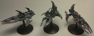 Dark Eldar Torture Cruisers by Master-of-Onion