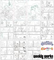 WEEKLY WORKS by makampo