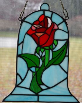 Beauty and the Beast Rose Blue Version Number 2 by AutobotWonko