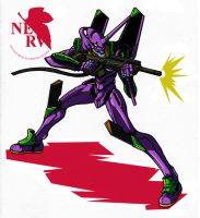 EVA01 by secowankenobi