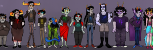 Homestuck trolls by SIIINS