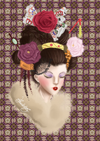 Geisha by Kastile