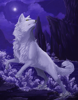 White Wolf Take 5 by linai