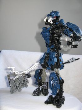 Lego Bionicle: ze Brute Hammer by retinence