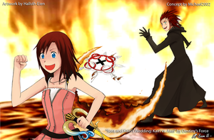 Commish: Kairi vs. Axel by x-Destinys-Force-x
