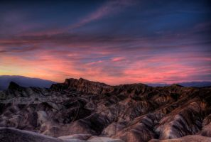 Death Valley Sunset by Srontgorrth