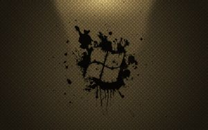 Windows Splatter Wallpaper 1 by dberm22